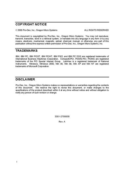 File:OMS MAXv manual MAXvmana.pdf - NSLS-II Controls - Public